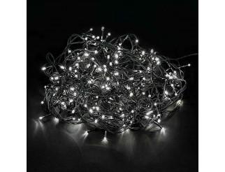 Luci di Natale 600 Led 54 Metri Albero Illuminazione Luce Fredda 220V Festa