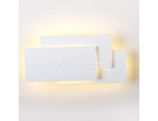 Plafoniera Corpo bianco IP20 4000K per parete LED 12W 1100lm