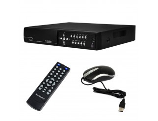 Dvr 8 Canali Videosorveglianza AHD 720P HDMI Iphone Android HD Cloud Telecamere