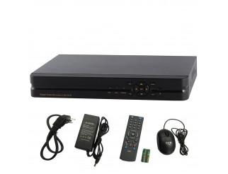 Dvr NVR Videosorveglianza 8 CH Canali per Telecamere Camera IP HD 720P LAN LIFE