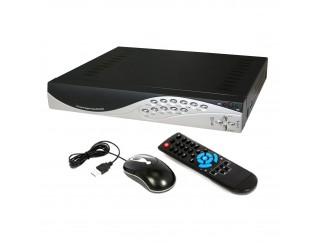 DVR REGISTRATORE 4 CANALI CH H.264 VIDEOSORVEGLIANZA LAN USB VGA PER CCD REMOTO