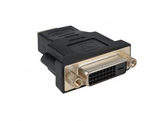 Adattatore Video DVI 24+1 Femmina to HDMI Maschio Vultech