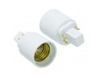 Adattatore per lampada Lampadina G24q a E27 LIFE