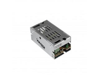 Alimentatore Stabilizzato Switch Trimmer 12V 220V Telecamere 1 Ampere 12 Watt