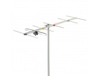 Antenna Tv Yagi VHF 6 Elementi Banda Larga 3 FRACARRO Digitale Terrestre Esterna