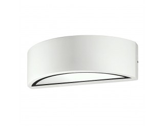 Applique LENTE E27 per esterno parete moderna alluminio EXCLUSIVE LIGHT
