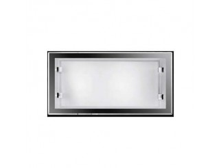 Applique in vetro bianco Led Perenz 2XE14 40W