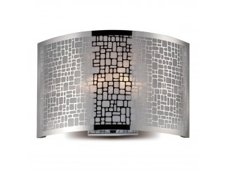 Applique Lampada da parete in Acciaio Ariel PAN Luce Corridoio Plafoniera Muro