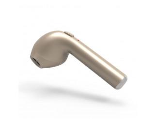 Auricolare Bluetooth Cuffia Wireless Auricolari con Microfono Dorato