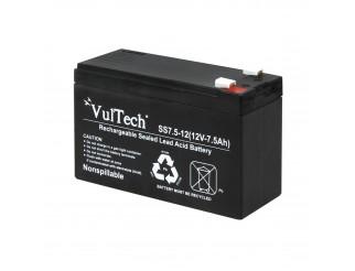 Batteria Al Piombo Ermetica 12v 12 Volt 7A VULTECH GS-7AH Gruppo di Continuita