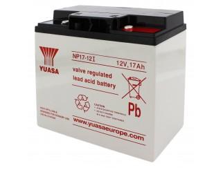 Batteria al Piombo per Allarme Antifurto 12V 17Ah Ricaricabile Allarmi
