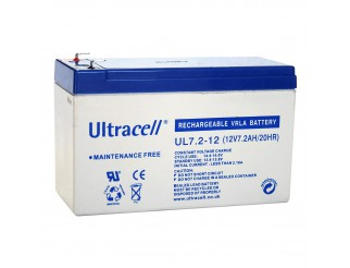 Batteria Ermetica al Piombo 12V 7Ah Ricaricabile Allarme Antifurto Sirena UPS