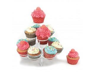 Cake Design Supporto Contenitore Alzata Porta CupCake 13 Muffin MAX