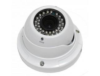 TELECAMERA DOME VIDEOSORVEGLIANZA 700 LINEE VARIFOCALE 2,8 12 mm INFRAROSSI CCD