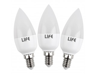 Lampada Tubolare E14 : Mitepek lampada a goccia led e candela oliva w w v