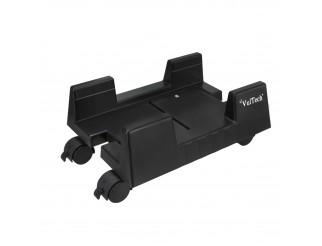 Carrello Porta PC Computer Case Ruote Supporto in Plastica VULTECH CP-02 Nero