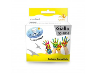 Cartuccia Compatibile Giallo T1814 Epson Expression Home XP30 XP102 XP202 XP205
