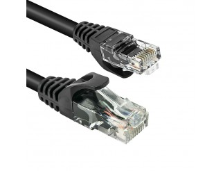 Cavo ethernet VULTECH UTP cat6 nero 20 mt