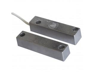 Contatto Magnetico Allarme Antifurto in Alluminio per Porte Contatti Magnetici