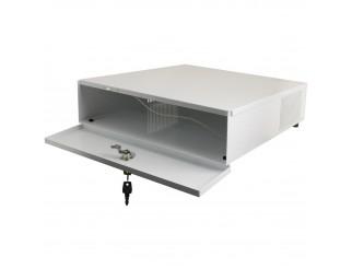 Contenitore Box Metallico Orizzontale per Dvr Videoregistratore CCTV Pulsar