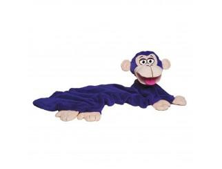 Coperta Bambino con Pupazzo in Pile Bambini Plaid Morbido Copri Letto Scimmia