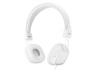 CUFFIE HEADPHONE CON MICROFONO BIANCO