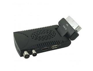 Decoder Mini Digitale Terrestre DVB-T2 Presa Scart Hdmi HD