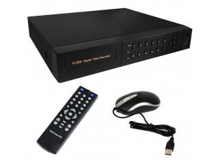 Dvr 4 Canali Videosorveglianza HD AHD H264 Hdmi VGA per Telecamere 720P Lan