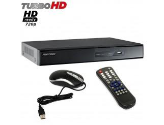 Dvr 4 Canali Videosorveglianza HIKVISION Turbo HD Ready 720P HDMI DS-7204HGHI-SH