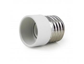 Adattatore Lampada Lampadina Faretto Convertitore LIFE LED Attacco E27 a E14