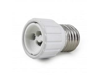 Adattatore Lampada Lampadina Faretto Convertitore LIFE LED Attacco E27 a GU10