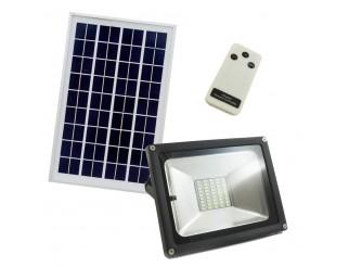 Faretto a Led 20W con pannello solare