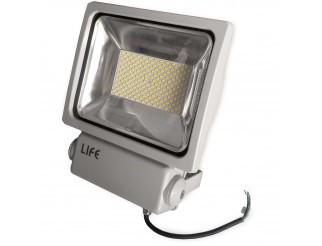 Faretto Faro Led GH1 100 Watt 8750 Lumen per Esterno Luce Bianca Fredda LIFE
