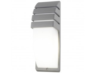 Plafoniera Applique Lampada Led Design a Parete LIGHT in Alluminio Esterno E27