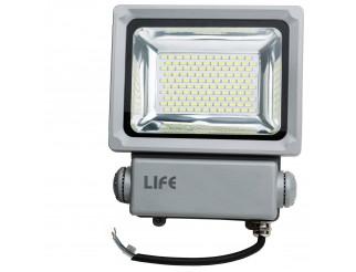 Faretto faro lampada a led da esterno IP65 70 watt luce bianca fredda Life