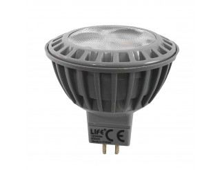 Faretto Led Lampadina Luce Calda 5W GU5,3 MR16 LED SPOT 12V