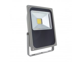 Faro Faretto Led 50w 50 Watt per Esterno Luce Bianca Naturale Slim IP65 LIGHT