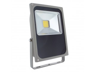 Faretto Faro Led 70 Watt per Esterno Luce Bianca Naturale LIGHT Slim 5500 Lumen