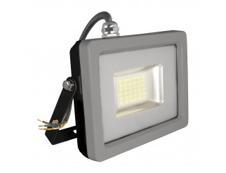 FARETTO LED SLIM 20W 6000K LUCE FREDDA IP65 NERO-GRIGIO 1600lmn V-TAC