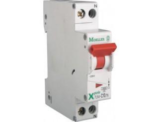 Interruttore automatico modulare PLN4-C10/1N 4,5KA 1N 1MOD 10A C EATON