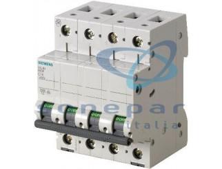 Interruttore automatico modulare 6000A ICU 6KA 4P C40 SIEMENS