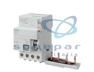 Interruttore modulare di protezione SIEMENS 4P 40A 30MA TIPO AC X 5SL