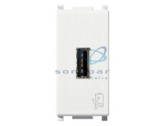 INTERRUTTORE ALIMENTAZIONE USB 5V 1,5A 1M BIANCO VIMAR