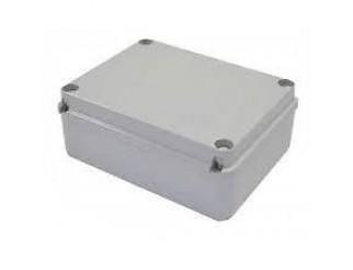 Scatola stagna Cassetta di derivazione passacavi liscia IP56 19x14x7,5 cm KML