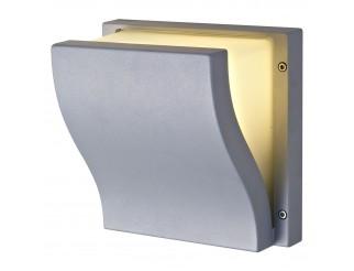 Lampada Esterno Plafoniera Applique E27 Parete Giardino Grigio LIGHT Moderno