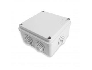 Scatola di derivazione Cassetta stagna 6 passacavi IP55 10x10x5 cm KML
