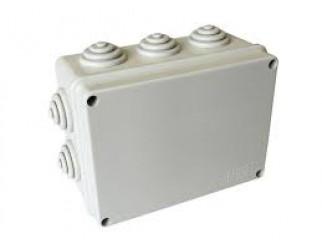 Cassetta di derivazione Scatola stagna 10 passacavi IP55 15x11x7,5 cm KML