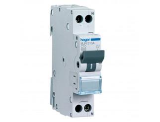 Interruttore Automatico 1P+N 10A 4.5KA