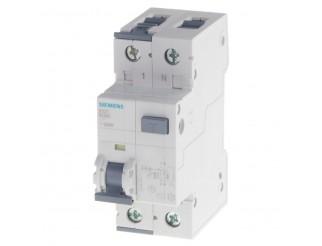 Interruttore automatico differenziale modulare SIEMENS MTD 4,5KA 6KA 1P+N C25 TIPO AC 30MA