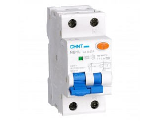 Interruttore Magnetotermico Differenziale 25A CHINT Tipo A 1P+N 6kA NB1L